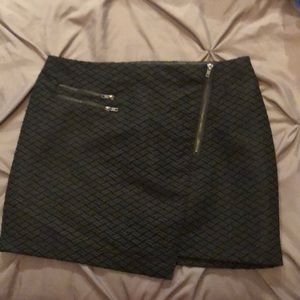 Forever 21 contemporary black mini skirt